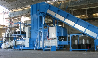 Europress Channel Baler with Conveyor