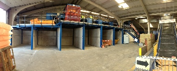 Higgins Balers installation of a MRF
