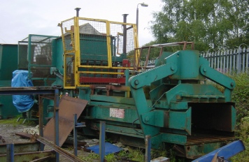 Original image of Bollegraaf HBC50 prior to Higgins Balers Refurbishment